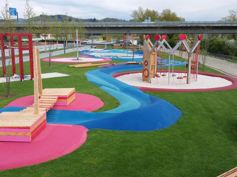 Spielanlagenbau - Bereich Sport und Spiel