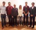 Im Bild von links nach rechts: Johannes Haderstorfer, Christoph Mayer, Konrad Zehetbauer, Nadja Schiller, Julian Seidl, Rudolf Haderstorfer