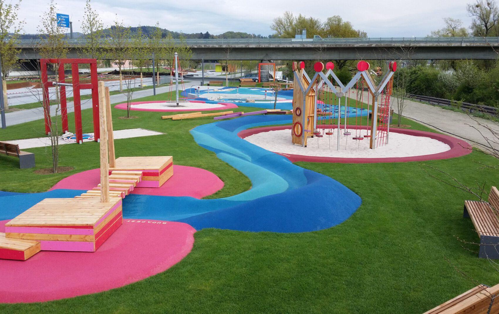 Landesgartenschau Deggendorf - Spielplatz